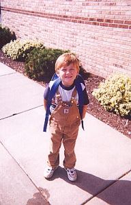 AC - 1st day of Kindergarten - 2002